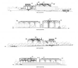Proposed elevation design at Bressingham.
