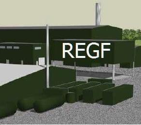 Pebble Hall Renewable Energy Facilities sketch-up
