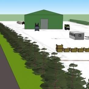 Waste transfer station