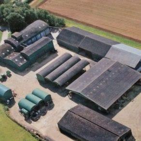 Overbury Estate Grainstores as at 2012