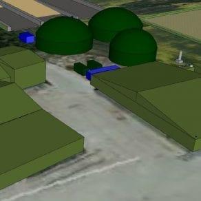 Model of AD Facility at Manor Farm