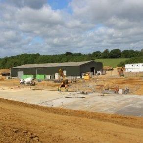 Pebble Hall TAD Facility Construction